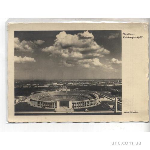 СПОРТ. ФУТБОЛ. Олимпиада в Берлине 193. г.