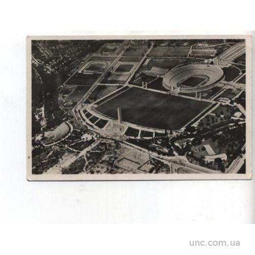 СПОРТ. ФУТБОЛ. Олимпиада в Берлине 1939 г. С верш.