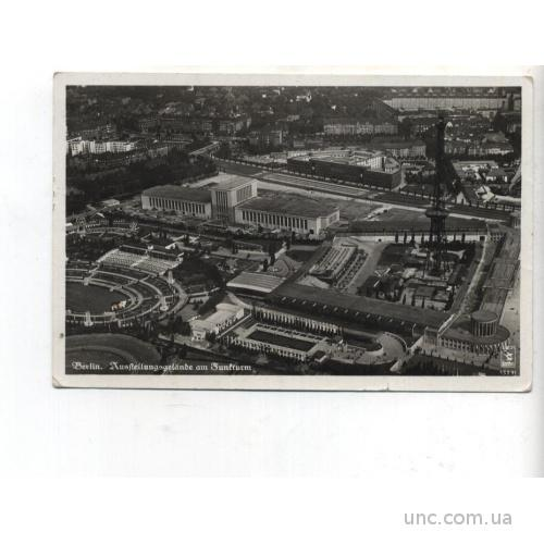 СПОРТ. ФУТБОЛ. Олимпиада в Берлине 1939 г. вершина