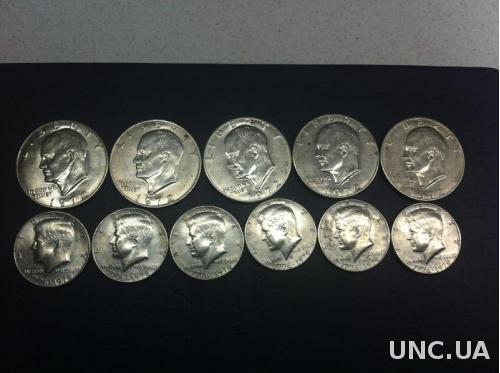 доллары сша (монеты)