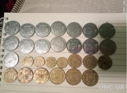 Монеты 1992 года Украина