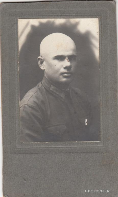ФОТО. КАБИНЕТ. ЧИТА.  ВОЕННЫЙ. СИБИРЬ. 1933