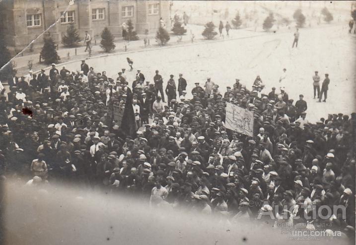 ФОТО. ПРОТЕСТ ПРОТИВ ЗАХВАТА ЖЕЛЕЗНОЙ ДОРОГИ. КИТАЙ. 1929