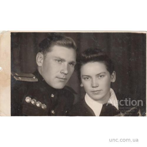 ФОТО. ВОЕННЫЙ С НАГРАДАМИ. МОСКВА. 1956