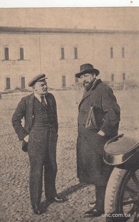 ЛЕНИН В КРЕМЛЕ. 1920