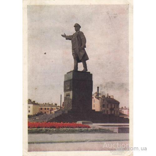 ЛЕНИНГРАД. ПАМЯТНИК КИРОВУ.