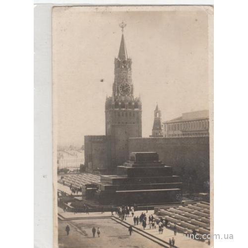 МОСКВА. МАВЗОЛЕЙ ЛЕНИНА. 1932