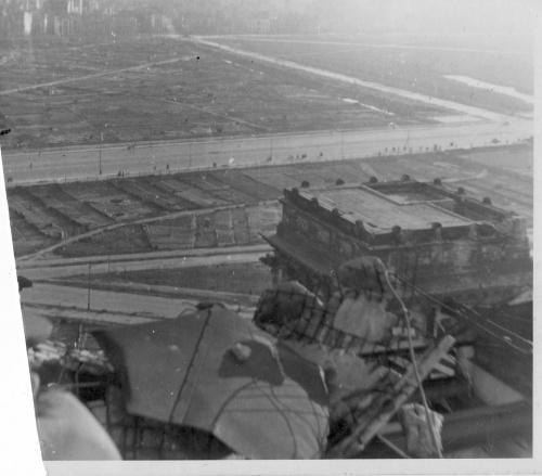 Панорамное фото Берлина с купола Рейхстага 1948 г.
