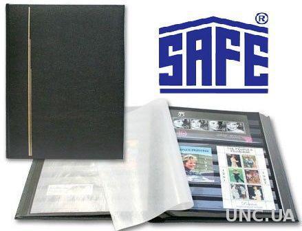 Альбом для марок SAFE Luxus - натуральная кожа - формат А4