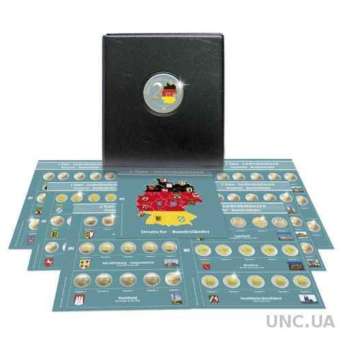 Альбом для монет ФРГ - 2 Евро - SAFE Premium