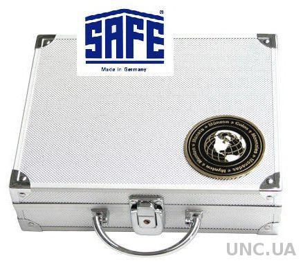 Кейс для монет SAFE + 6 планшетов для монет