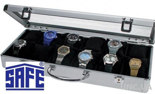 Кейс-витрина 12 наручных часов - SAFE (сделано в ФРГ)