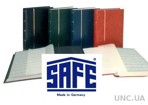 Кляссер SAFE - альбом для марок - 32 страницы - А4 - чёрные листы