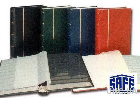 Кляссер SAFE - альбом для марок - 60 страниц - А4 - чёрные листы