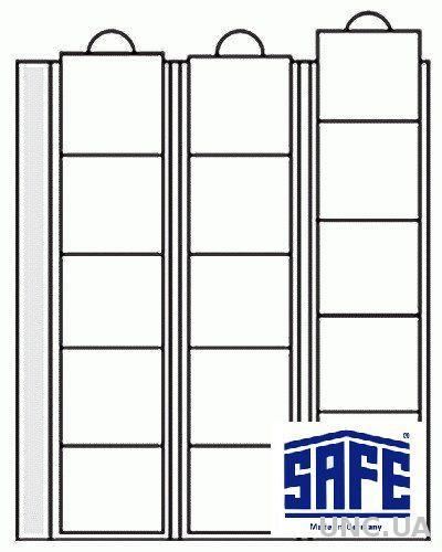 Лист для монет - ячейка 44 мм - SAFE Premium