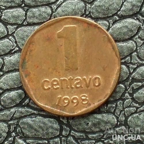 Аргентина 1 сентаво 1998