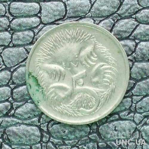 Австралия 5 центов 1976