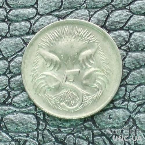 Австралия 5 центов 1982