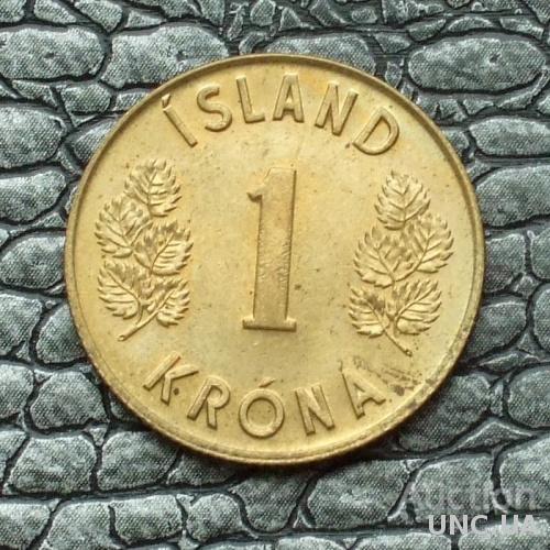 Исландия 1 крона 1975