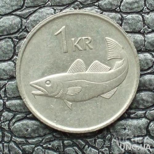 Исландия 1 крона 1981