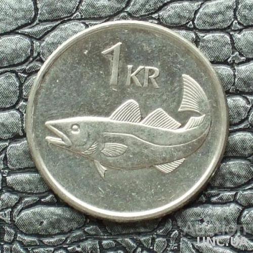Исландия 1 крона 2003