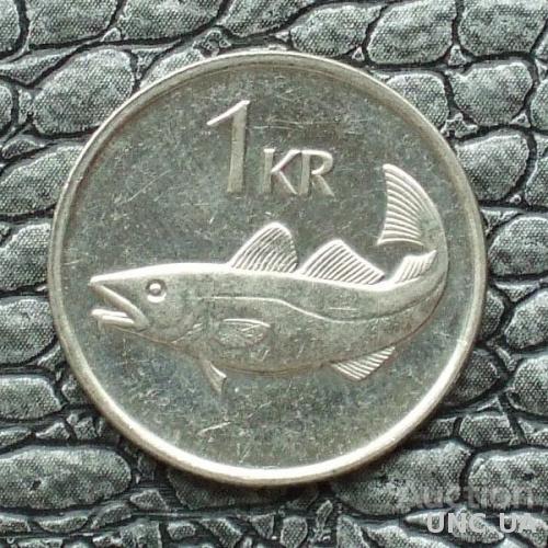 Исландия 1 крона 2007