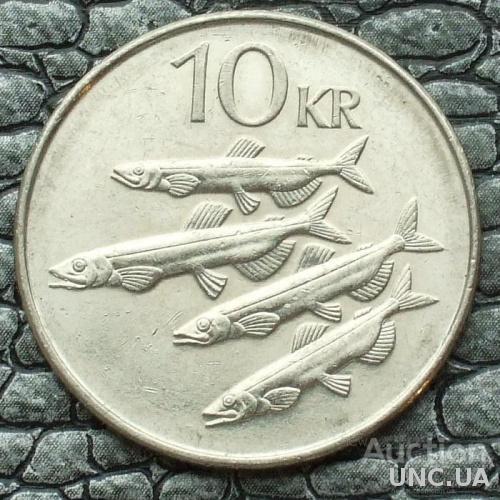 Исландия 10 крон 2006