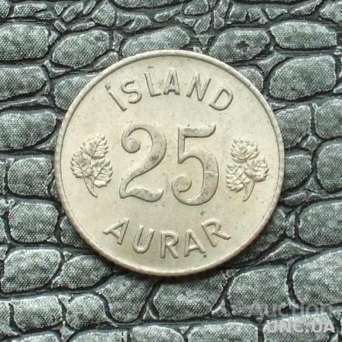 Исландия 25 эйре 1967