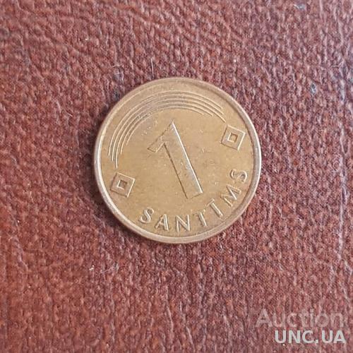 Латвия 1 сантим 1997