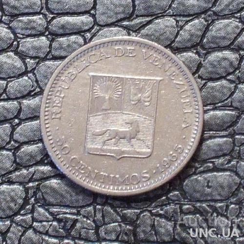 Венесуэла 50 сентимо 1965