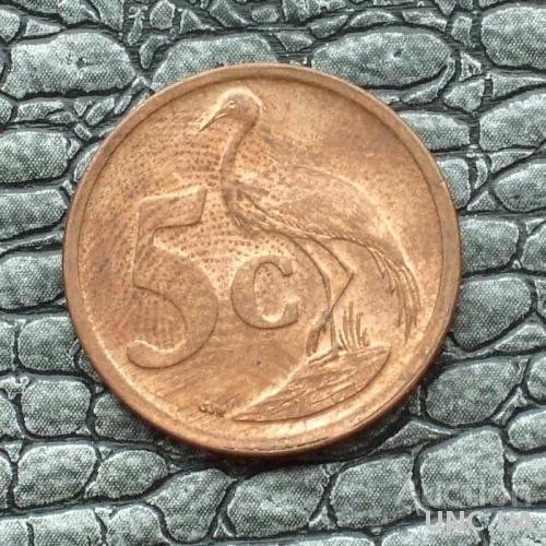 ЮАР 5 центов 2007