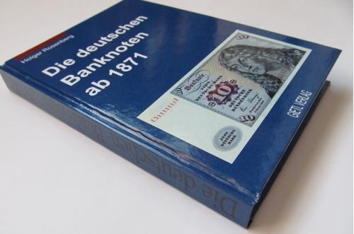 Німецькі банкноти з 1871/ Rosenberg H. / 2001р