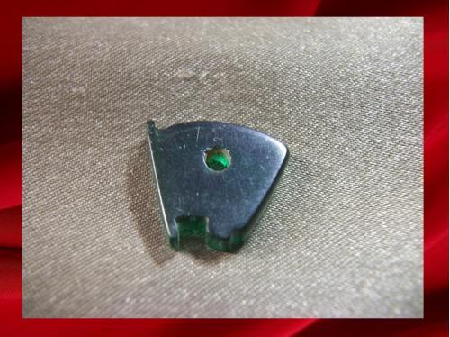1442 Комсомол, ВЛКСМ, дембельская подкладка под винтовой значок, материал похож на пластик.