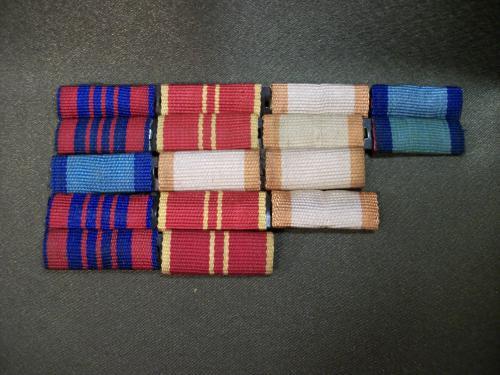 Н151 Планки от медалей СССР, 5 штук