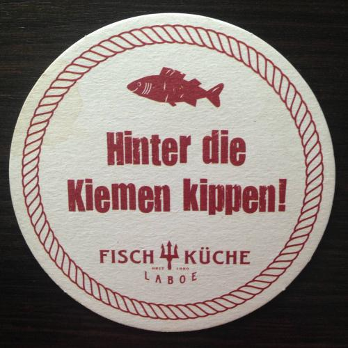 Бирдекель. Fisch Kuche.