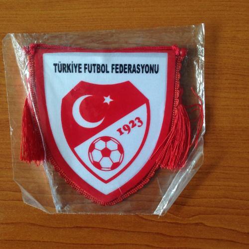 Вымпел. Fair play. Turkiye futbol federasyonu 1923.