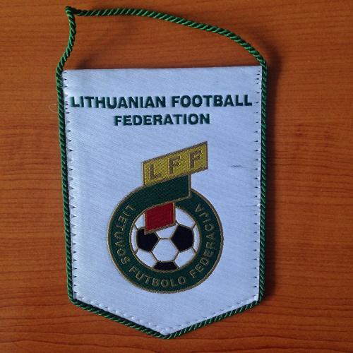 Вымпел. lithuanian football federation.