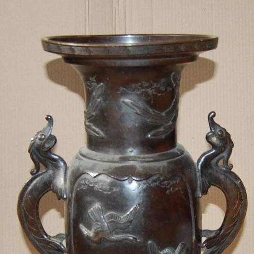 Ваза бронзовая 19 века 48см