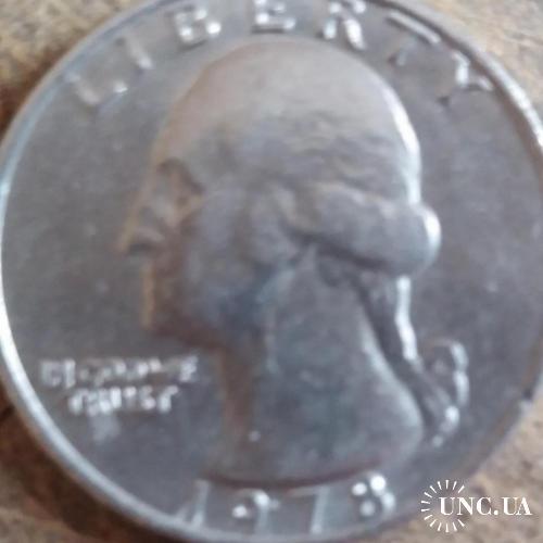 LIBERTY QUSRTER DOLLAR. 1978г.