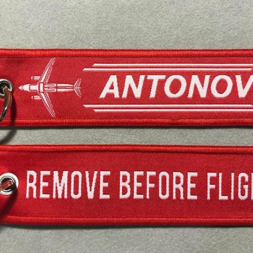Брелок ремувка Remove Before Flight Удалить перед полетом Ан- 188 авиация ANTONOV Антонов тип 2