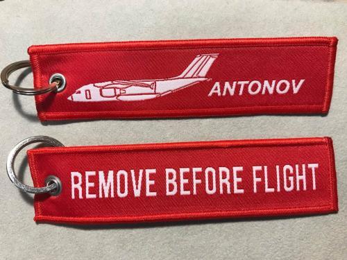 Брелок ремувка Remove Before Flight Удалить перед полетом Ан- 178 авиация ANTONOV Антонов тип 1