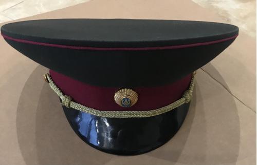 ФУРАЖКА офицерская (військового медика) индпошив Украина Україна размер 55 56 ?