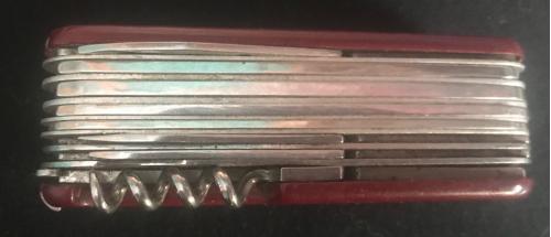 Многофункциональный складной нож в наборе 15 инструментов и два пинцета 17 Мультитул