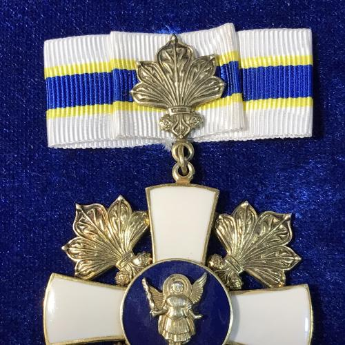 Почесна відзнака Знак пошани Київського міського голови срібло 925 клеймо Київ + документ