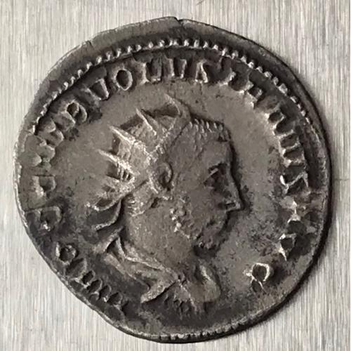 Рим Империя Гай Вибий Волузиан Gaius Vibius Volusianus 251 253 г 3,32 грамма Антониниан