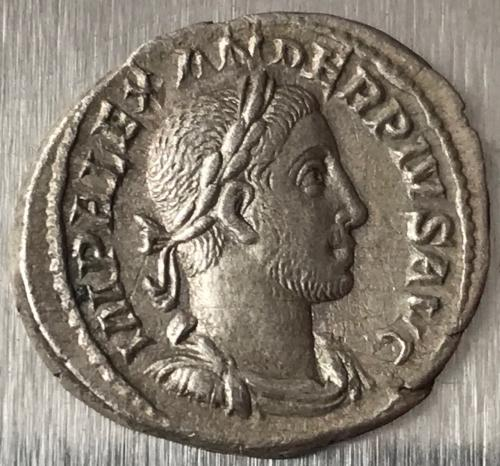 Рим Империя Марк Аврелий Север Алексаандр Marcus Aurelius Severus Alexandrus 222 - 235 г денарий