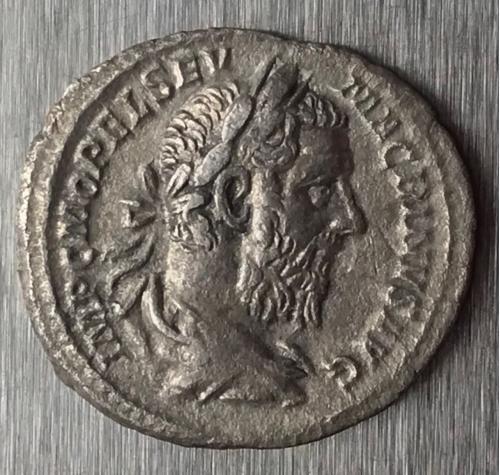 Рим Империя Марк Опеллий Макрин Marcus Opellius Macrinus 217 - 218 г 2,61 грамма денарий