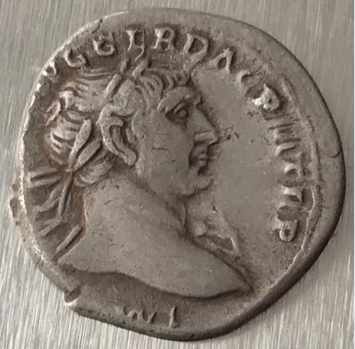 Рим Империя Марк Ульпий Нерва Траян Marcus Ulpius Nerva Traianus 98 - 117 г 3,07 грамма денарий