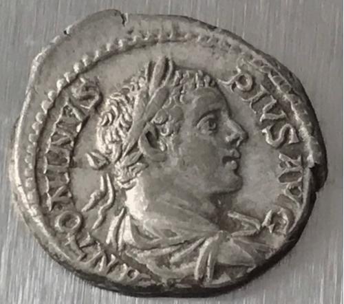 Рим Империя Септимий Бассиаан Каракалла Septimius Bassianus Caracalla 211 - 217 г 3,47 гр денарий