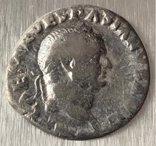 Рим Империя Тит Флавий Веспасиан Titus Flavius Vespasianus 69 - 79 г 3,05 гр денарий